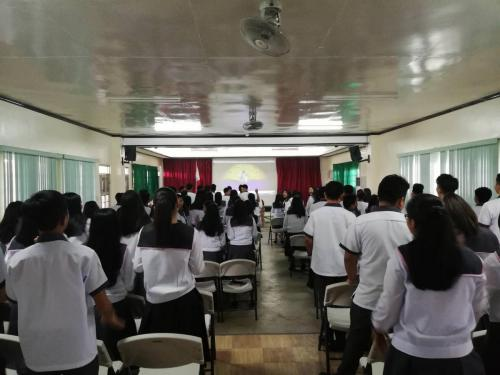 Anti-Bullying Program - SHS (2018-2019)